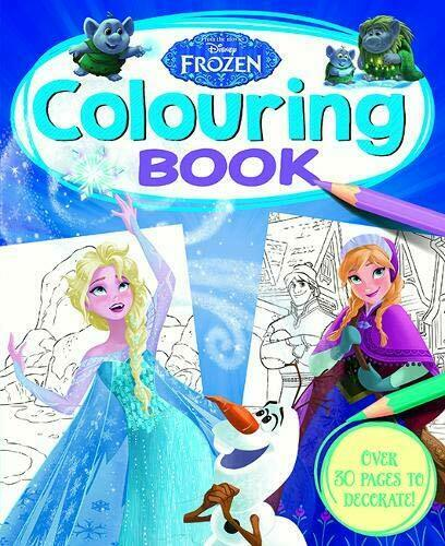 Disney Frozen Colouring Book