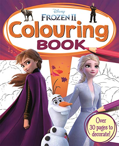 Disney Frozen II Colouring Book