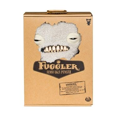 Fuggler: Monster, Munch - Fuzzy White (boxed)