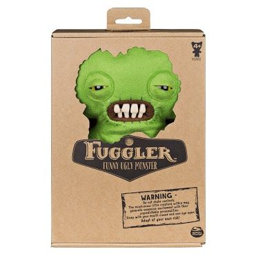 Fuggler  Monster: Squidge  Green (boxed)