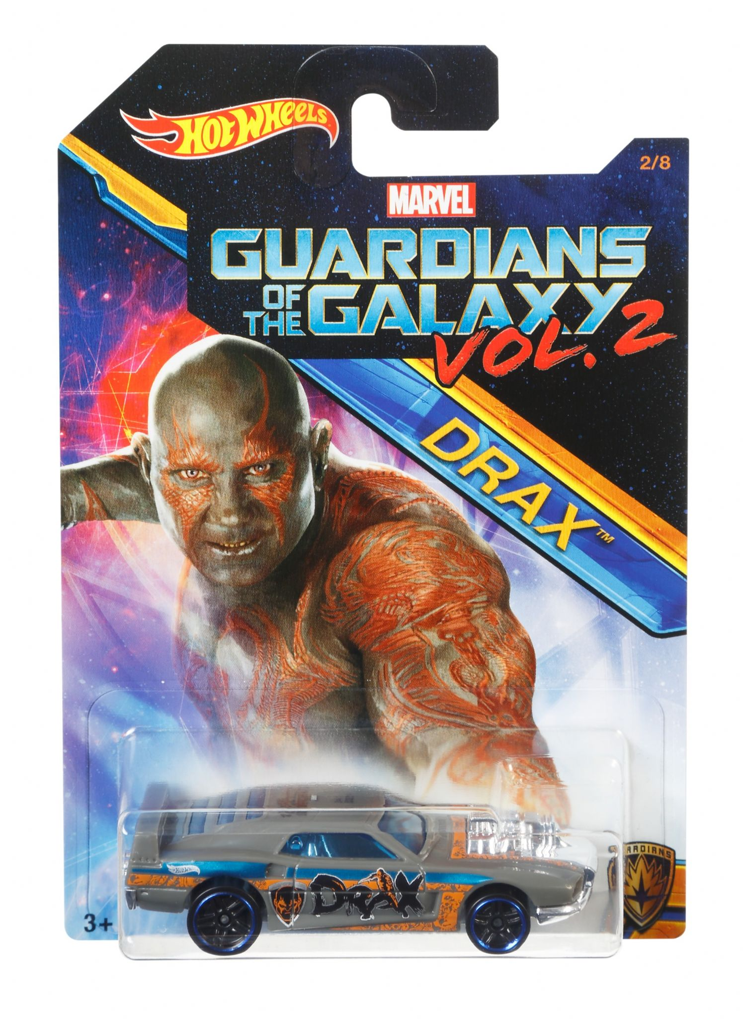 Hot Wheels Guardians of the Galaxy Vol 2 Rivited