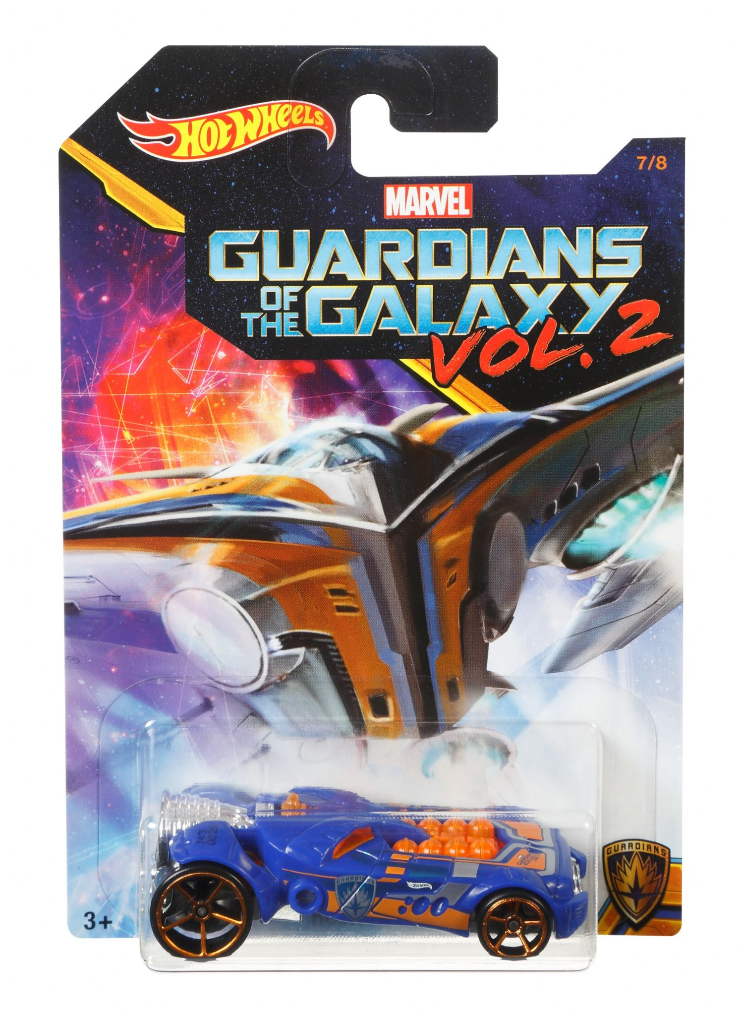 Hot Wheels Guardians of the Galaxy Vol 2 Rocketfire