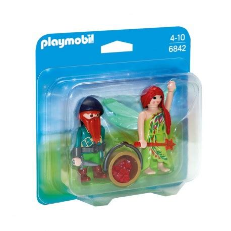 Playmobil 6842 Elf and Dwarf Duo Pack