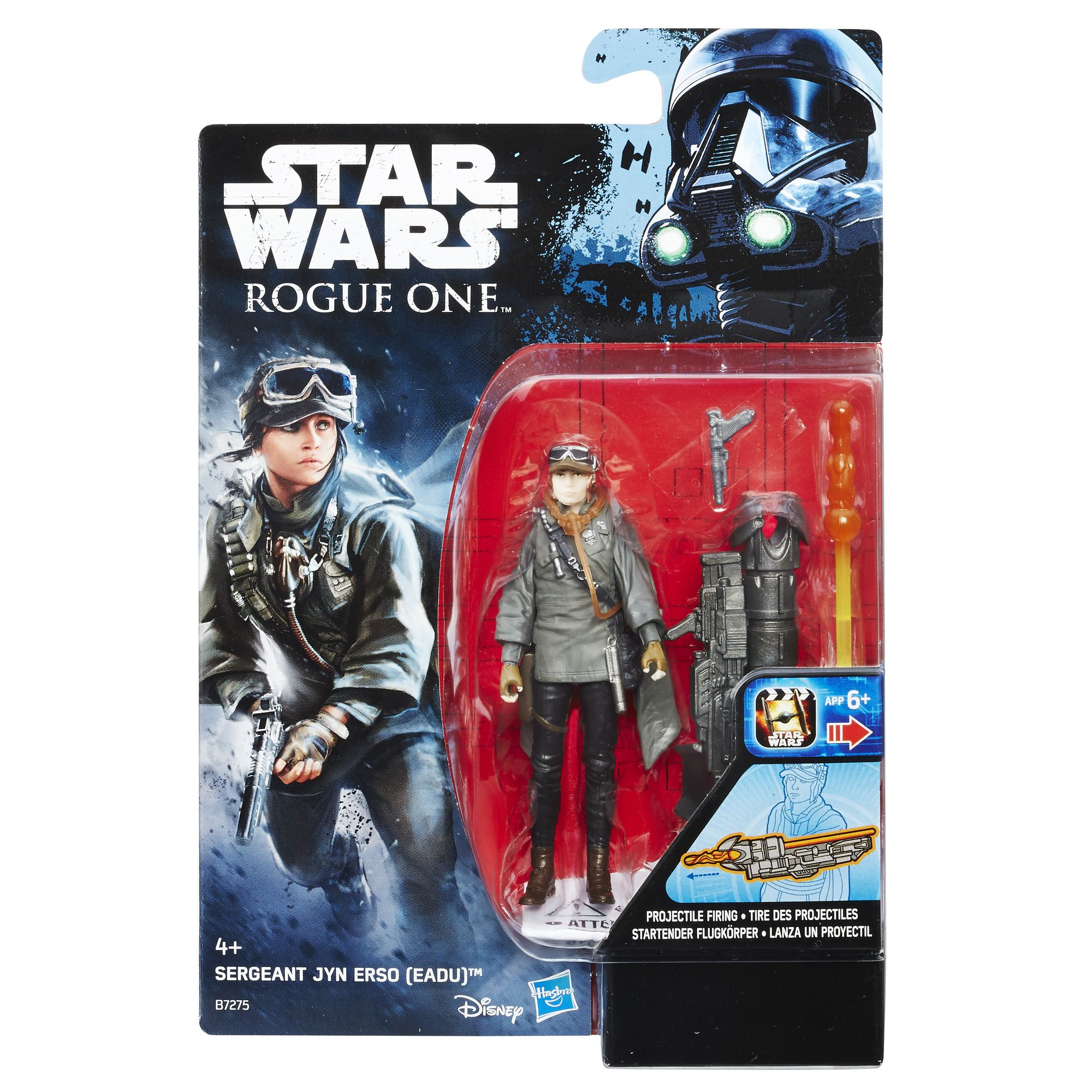 "Star Wars Rogue One Sergeant Jyn Erso 3.75"" Figure"