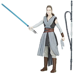 "Star Wars The Orange Series 3.75"" Force Link Action Figure - Rey Jedi Training"
